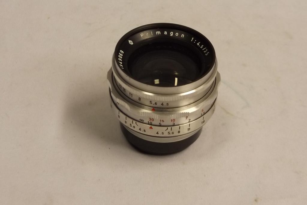 Primagon  4,5/35mm Meyer-Optik Görlitz  sz.:1949069 Altixhoz